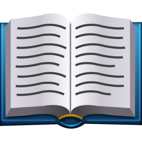 Image of an open book.